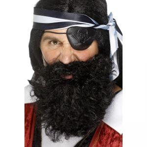 1501 - Pirate Beard Black