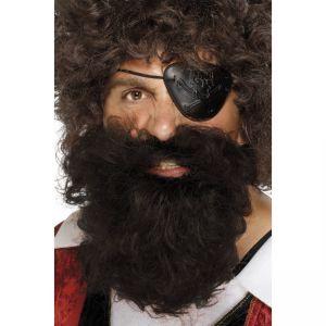 1502 - Pirate Beard Brown
