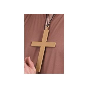 20176 - Pvc Monks Cross, Gold