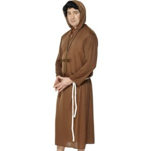 20424 - Monk Costume, Adult, Brown