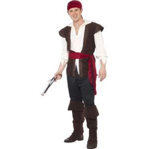 20469 - Pirate Costume,Black
