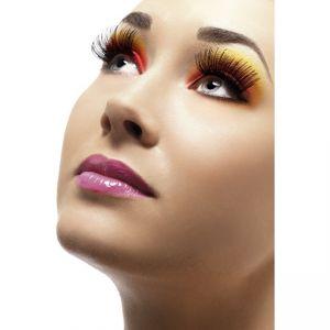 21120 - Eyelashes, Black, Contains Glue