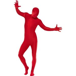 21744 - Second Skin Suit, Red