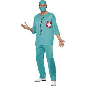 21781 - Surgeon Costume, Green