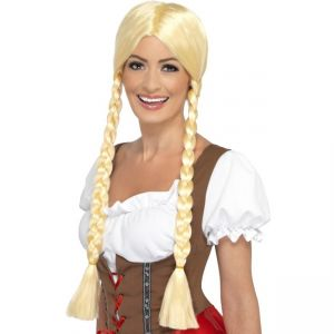 21817 - Bavarian Beauty Wig, Blonde, Plaited
