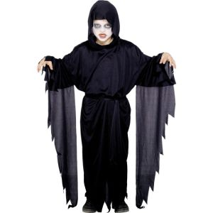 21818 - Screamer Ghost Robe, Black