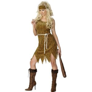 22452 - Cavewoman Costume, Brown