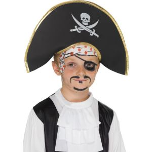 22654 - Pirate Captain Hat