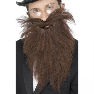 22833 - Long Beard And Tash, Brown