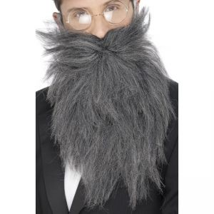 22834 - Long Beard And Tash, Grey