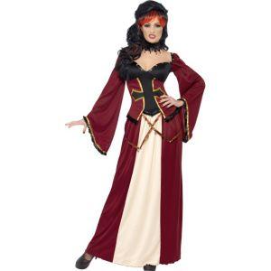 22936 - Gothic Vampiress Costume, Dark Red