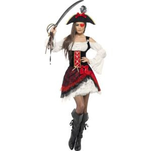 23281 - Glamorous Lady Pirate Costume