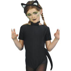 23415 - Cat Instant Set, Child, Black