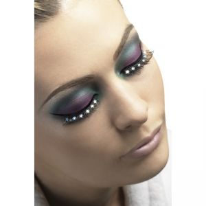24259 - Eyelashes, Black With Stars, Contains Glue
