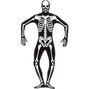 24618 - Skeleton Glow In The Dark Second Skin Suit