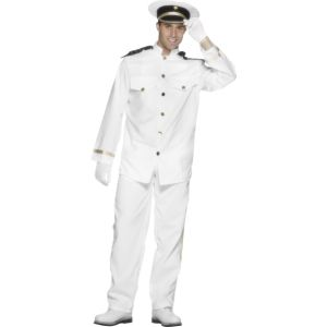 24850 - Captain Costume, White