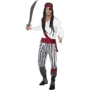 25783 - Pirate Man Costume, Adult
