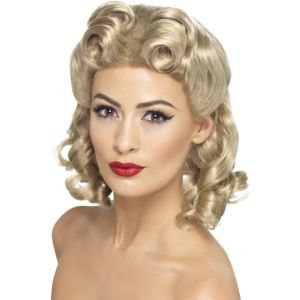 26230 - 40\'S Sweetheart Wig,Blonde