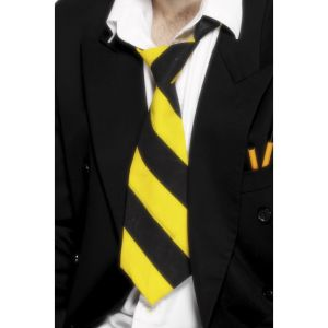 26443 - School Tie Yellow And Black