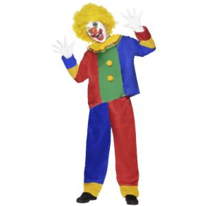 26697 - Clown Costume, Multi-coloured