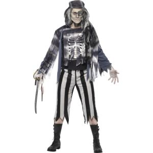 27547 - Ghostly Pirate Costume