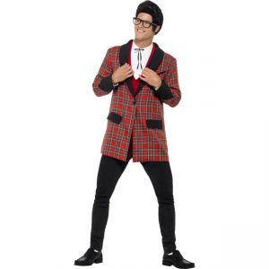 27563 - Teddy Boy Costume, Red Plaid