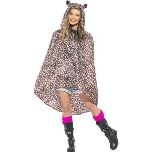 27608 - Leopard Party Poncho
