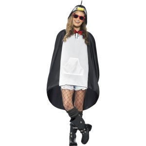 27609 - Penguin Party Poncho