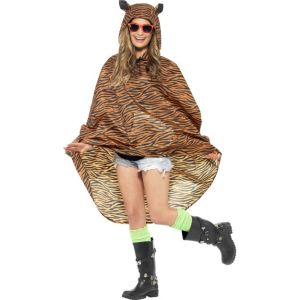 27610 - Tiger Party Poncho