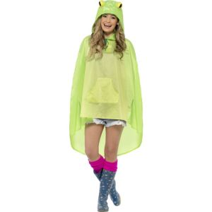 27612 - Frog Party Poncho