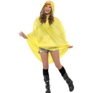 27613 - Duck Party Poncho