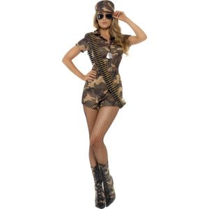 28864 - Army Girl Sexy Costume