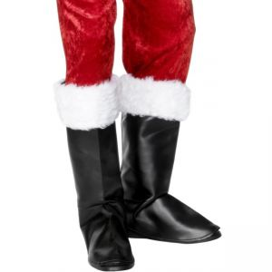 28933 - Santa Boot Covers, With Fur