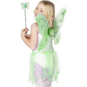 29322 - Green Butterfly Wings