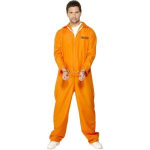 29535 - Escaped Prisoner Costume, Orange