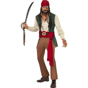 30728 - Aribbean Drunken Pirate Costume