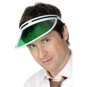 31706 - Poker Visor, Green