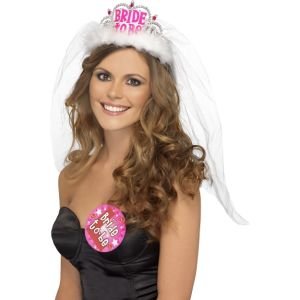 31913 - Hen Night Bride To Be Tiara