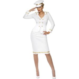 33072 - Officer\'s Mate Costume, White