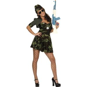 33078 - Military Babe Costume, Camouflage