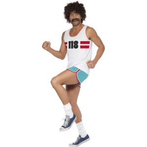 33322 - 118118 Male Runner Costume