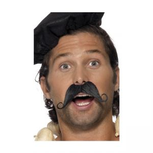 33403 - Frenchman Moustache, Black
