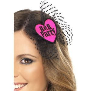 33523 - Hen Party Hair Bow