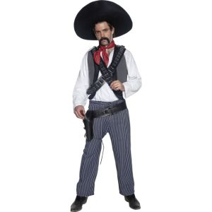 34292 - Authentic Western Mexican Bandit Costume
