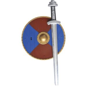 34981 - Weapons Set With Sword And Shield