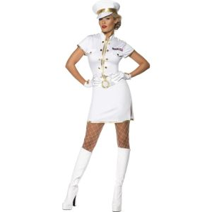 35260 - High Seas Captain Costume, White
