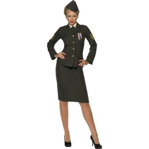 35335 - Wartime Officer Costume, Green