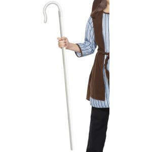 36748 - Extendable Shepherds Staff, White