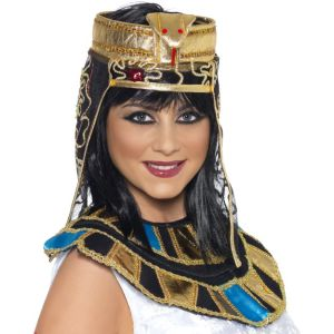 37084 - Egyptian Headpiece, Gold And Black