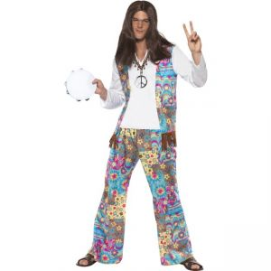 38628 - Groovy Hippie Costume